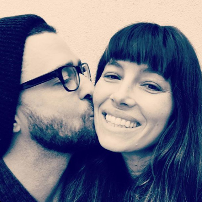 "Jessica Biel was showered with kisses from husband Justin Timberlake for her birthday in March 2017. He wrote along with the photo: ""You make me laugh. You make me smile. You make me LOVE. You make me want to be BETTER. Speaking of, it doesn't get any BETTER than you... Now, I know for sure that it's BETTER to be lucky than good. Ask me who the luckiest guy in the world is and I will tell you that you are looking at him. 