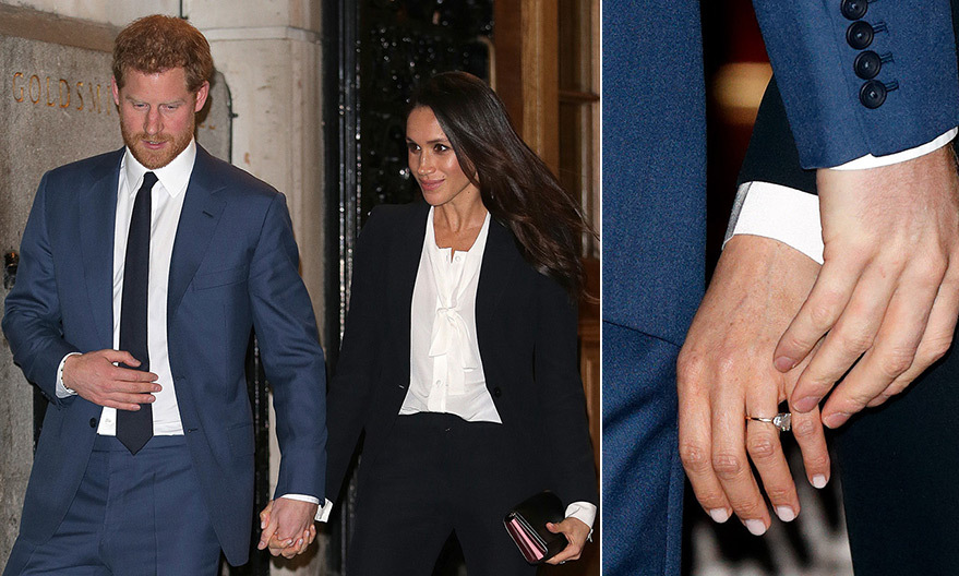 Prince Harry and Meghan stepped out for a very special 'date night' at the Endeavour Fund Awards in London on February 1, marking their first red carpet appearance together. As the pair left the event, they held hands – a gesture that is becoming the royal couple's trademark!