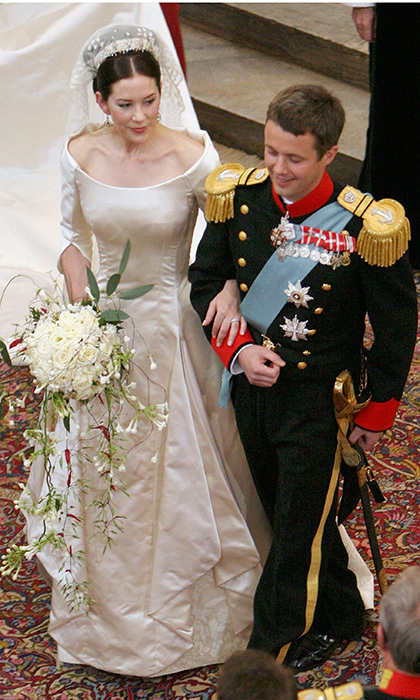 Frederik Was A True Prince Charming In His Military Uniform While Bride