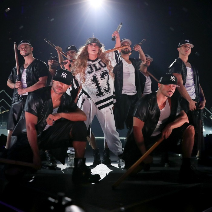 "Jennifer Lopez spent Super Bowl Eve paying homage to another major sport - baseball! During the star's heart pumping performance at the 2018 DIRECTV NOW Super Saturday Night Concert at NOMADIC LIVE! at the Armory on February 3 she honored her boyfriend Alex Rodriguez. J.Lo repped a ""13"" jersey, which was A-Rod's number while on the Yankees, and had Yanks-clad dancers surround her. The sweet moment certainly stood out in a night dedicated to football!