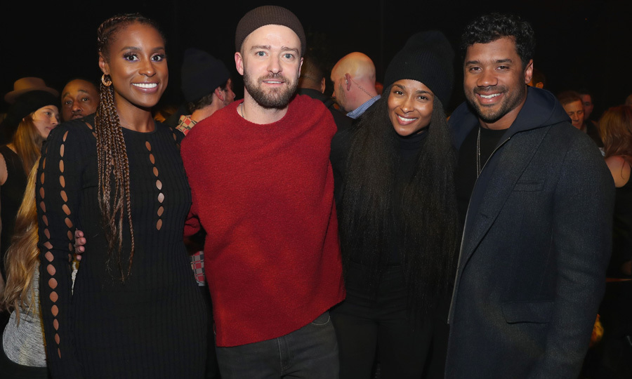After previewing his album in NYC, Justin Timberlake took over Prince's Paisley Park to throw one last party to celebrate <i>Man of the Woods</i> in Minneapolis. Issa Rae, Ciara and Russell Wilson were among the guests at the American Express listening session.