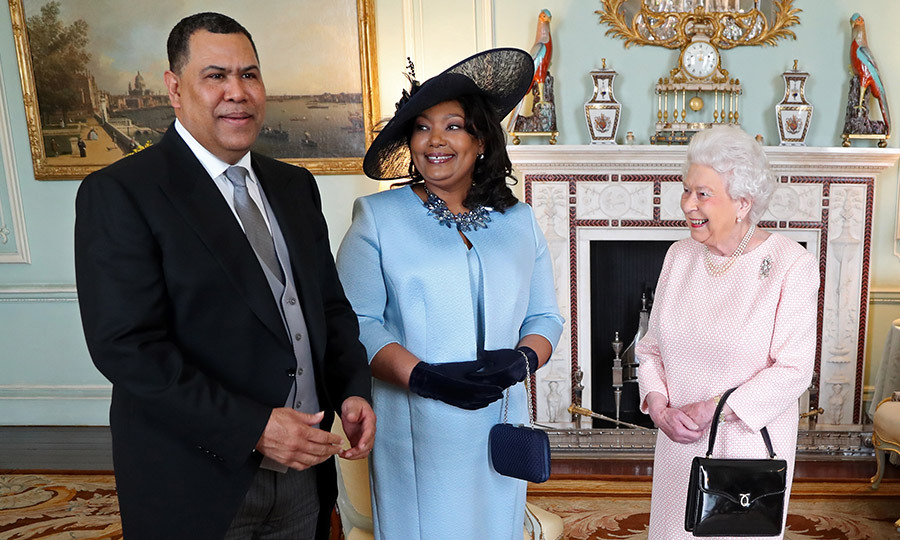 Queen Elizabeth II welcomed His Excellency Ellison Greenslade, High Commissioner for the Commonwealth of the Bahamas, and his wife Mrs Greenslade to Buckingham Palace for a private audience on February 8.