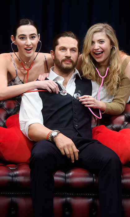 Madame Tussauds London unveiled its first wax figure of actor Tom Hardy – which comes complete with heartbeat and body temperature torso! The public can get its first in-person look at Tom's realistic doppelgänger on Valentine's Day, when it makes its debut.