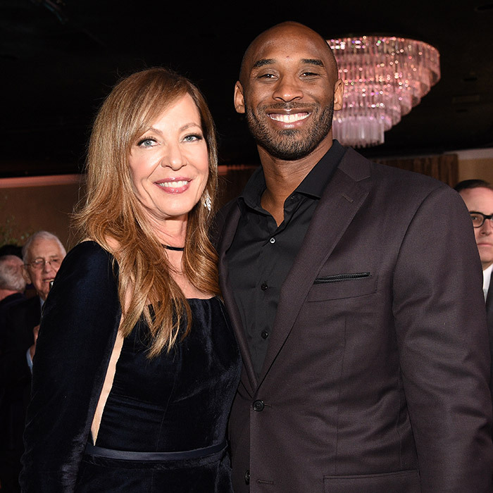 Nominees Allison Janney and Kobe Bryant had a chance to chat at the Oscars Luncheon, which took place in the run up to the March 4 ceremony.