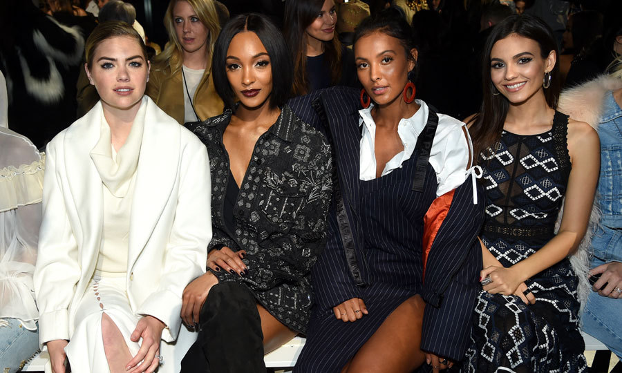 Kate Upton, Jourdan Dunn, Maya Jama and Victoria Justice attended the Jonathan Simkhai presentation, hosted by Maybelline New York.