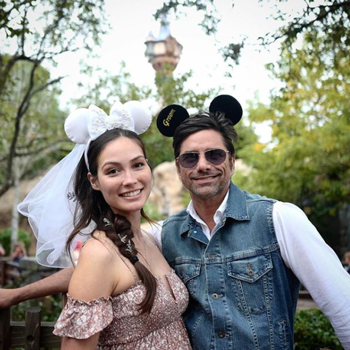 <b>John Stamos and Caitlin McHugh</b>