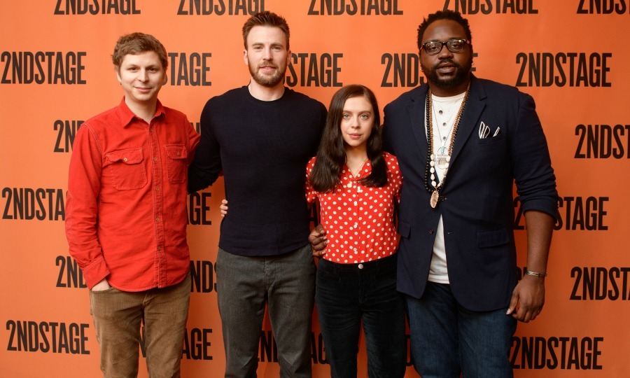 Celebrity photos best star pictures of the week from february 12 michael cera chris evans bel powley and brian tyree henry posed for photos at m4hsunfo