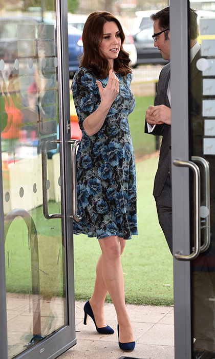 Kate S Florrie Dress By Seraphine Has Seen Numerous Showings During The Royal Pregnancies