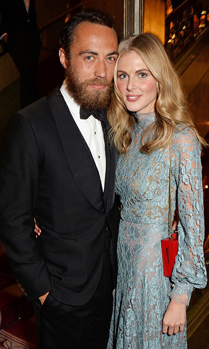 <b>James Middleton and Donna Air</b>