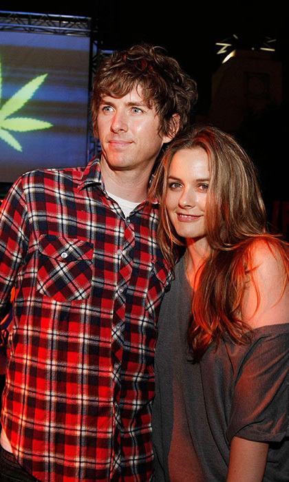 <b>Alicia Silverstone and Christopher Jarecki</b>