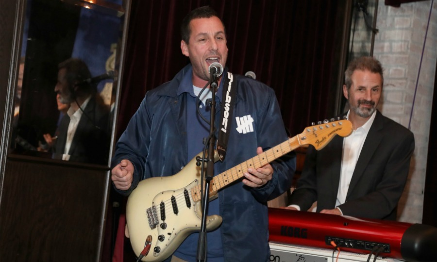 Adam Sandler performed at the worthwhile event.