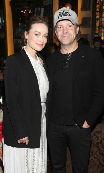 Olivia Wilde attended the event with her husband Jason Sudeikis.