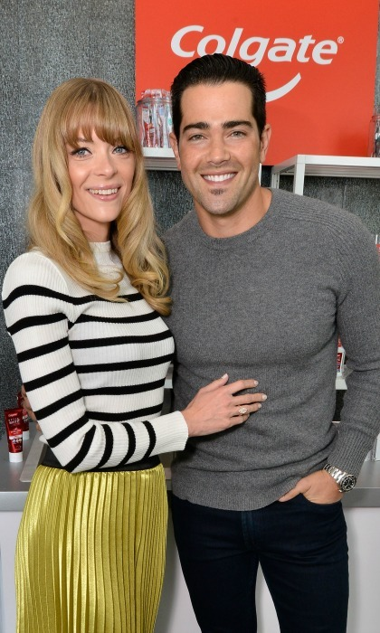 Jaime King and Jesse Metcalfe were among the celebrities in attendance at the Colgate® Optic White® Beauty Lab on March 3 in L.A.