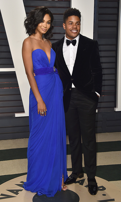 <B>Chanel Iman and Sterling Shepard</B>