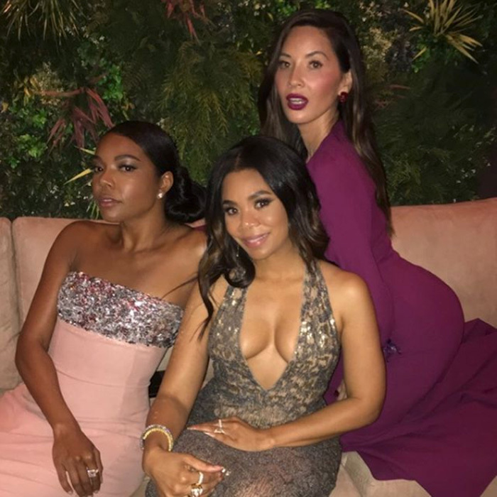 Gabrielle Union, Regina Hall and Olivia Munn brought endless girl power to the Vanity Fair bash sponsored by Belvedere vodka.