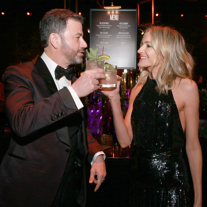 A toast for the host! Jimmy Kimmel kept the party going at his own star-studded <b>Oscars party</b> where they celebrated the night with a Ciroc Jimlet at The Lot.
