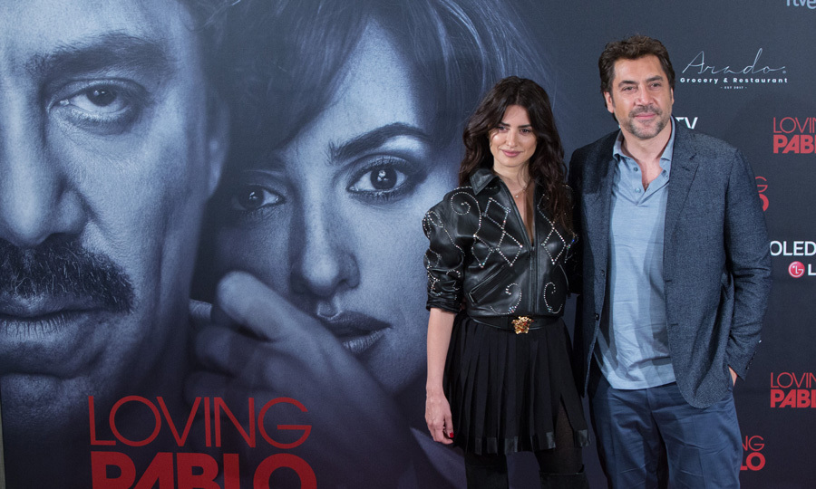 We are loving... Penelope Cruz and Javier Bardem in a movie together once again. The couple stepped out in Madrid for their <i>Loving Pablo</i> photocall.