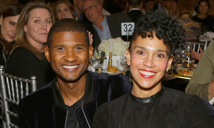 <B>Usher and Grace Miguel</B>