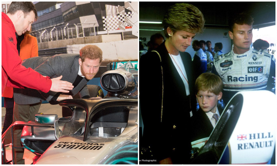 Prince Harry, who is Patron of the Silverstone Experience, paid a visit to the Silverstone Circuit on March 7 to mark the official start of construction on a new educational center. Meghan Markle's future husband has made several visits there before. Back in 1994, Harry accompanied his mother Princess Diana to present the trophy at the Grand Prix.
