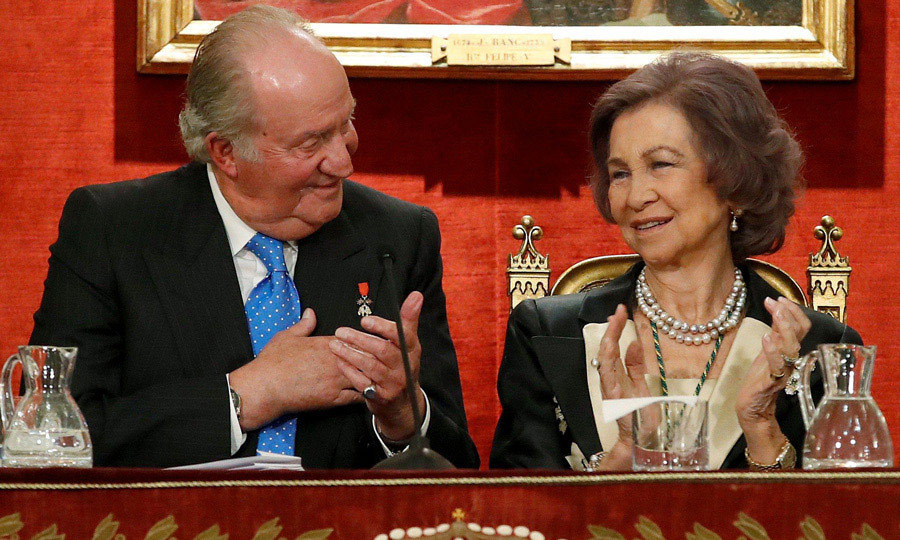 It's a celebration fit for a former King! King Juan Carlos and Queen Sofia of Spain celebrated the former monarch's 80th birthday (which took place on January 5) with a special ceremony at the Spanish Real Academy of History in Madrid on March 5.
