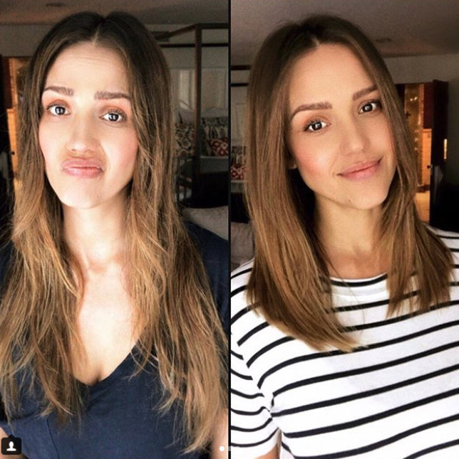 <b>JESSICA ALBA</B>