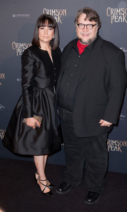 <b>Guillermo del Toro and Lorenza Newton</b>