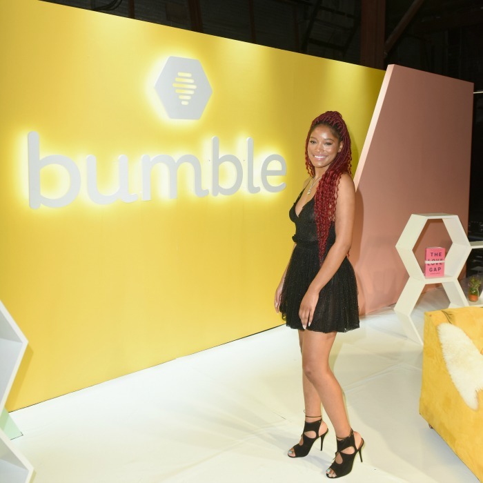 "Keke Palmer helped kick off SXSW by bringing empowerment to Texas. She was among the stars to attend ""Bumble Presents: Empowering Connections"" at Fair Market on March 9 in Austin, Texas. 