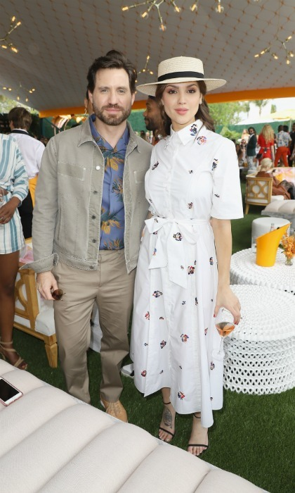 Pretty in prints! Édgar Ramírez and Eiza González were among the star names at the 4th annual Veuve Clicquot Carnaval at Museum Park in Miami. The pair, who rocked some sweet print ensembles, enjoyed a fun day which included traditional Carnaval celebrations like: salsa dancers, drummers and live music, while DJ May Kwok kicked off the day on the turntables.