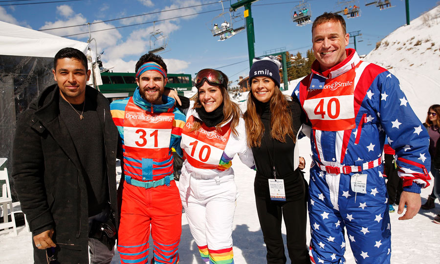 Wilmer Valderrama, Darren Criss, Mia Swier, Brooke Burke and Matt Iseman took to the slopes for a good cause. The group traveled to Utah for Operation Smile 7th annual Park City ski challenge sponsored by The St. Regis Deer Valley.