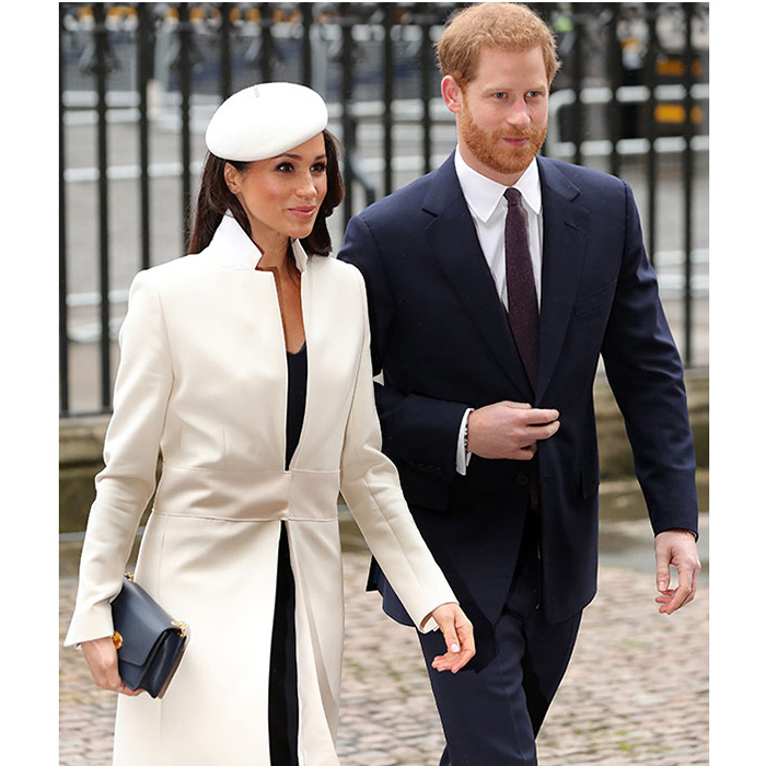 "<b>The engagement:</b> The pair announced their happy news on November 27 in a statement released from Clarence House which revealed that the couple became engaged in London in early November. ""Prince Harry has informed Her Majesty the Queen and other close members of his family. Prince Harry has also sought and received the blessing of Ms. Markle's parents,"" read the statement. Later that day the couple posed for the press and Meghan showed off her new engagement ring: a custom Cleave and Company trilogy ring featuring diamonds specially selected by the Prince; a central gem from Botswana, where the couple vacationed together, and the other two from his late mother Princess Diana's personal collection.