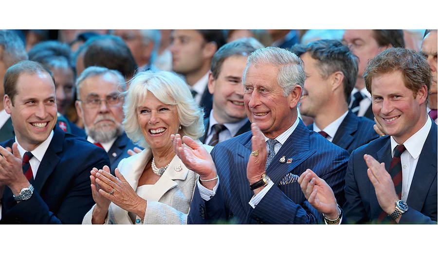 "During her time with Charles, Camilla has become an integral and much-loved part of the lives of his sons William and Harry as well. ""We are very grateful for her. She's made our father very happy,"" Prince Harry has said of his stepmother.