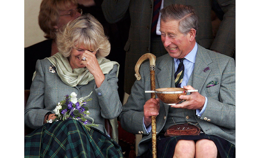 Now, more than a decade after their wedding, the down-to-earth Duchess of Cornwall has been credited with bringing a <I>joie de vivre</I> to the couple's life together. And never is that so evident than during their public engagements, when a shared laugh never seems to be far away.