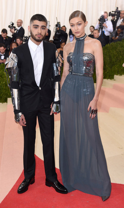 <b>Gigi Hadid and Zayn Malik</b>