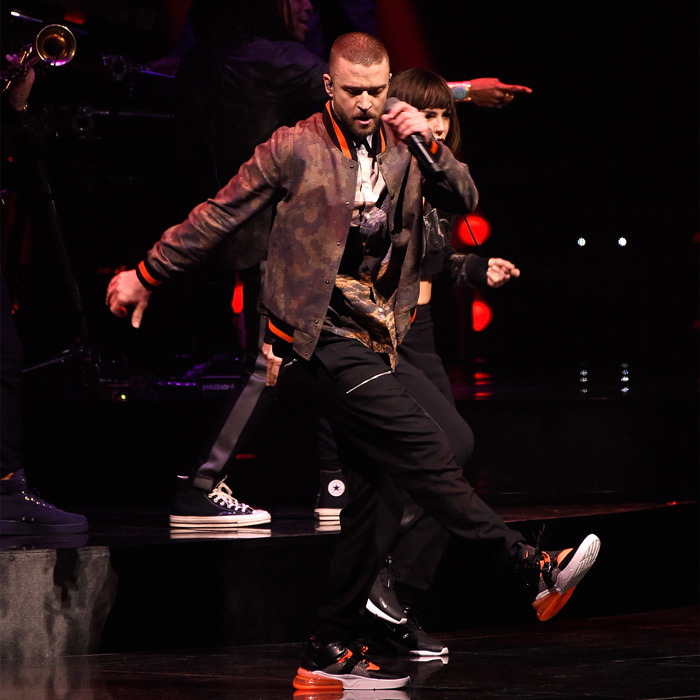Justin Timberlake kicked off the Live Nation <i>Man of the Woods</i> tour in Toronto at the Air Canada Centre. The singer opened with <i>Filthy</i> and then wowed guests with his moves and hits for two hours.