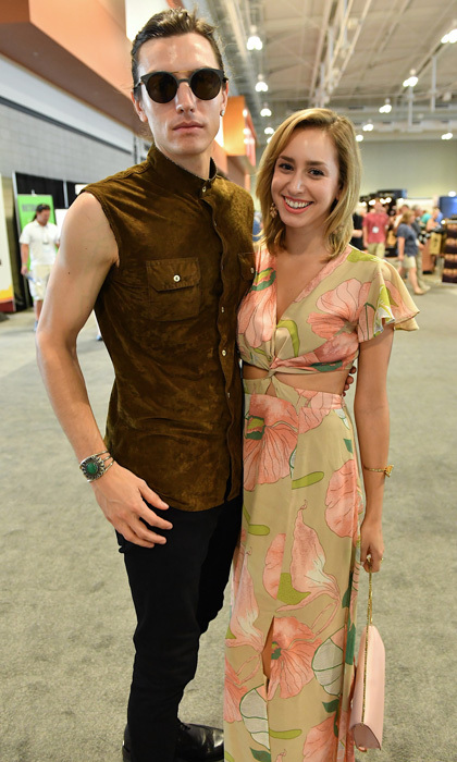 Jazmin had the perfect summer attire while attending the Summer NAMM show with boyfriend Ian Mellencamp in Nashville in July 2017.