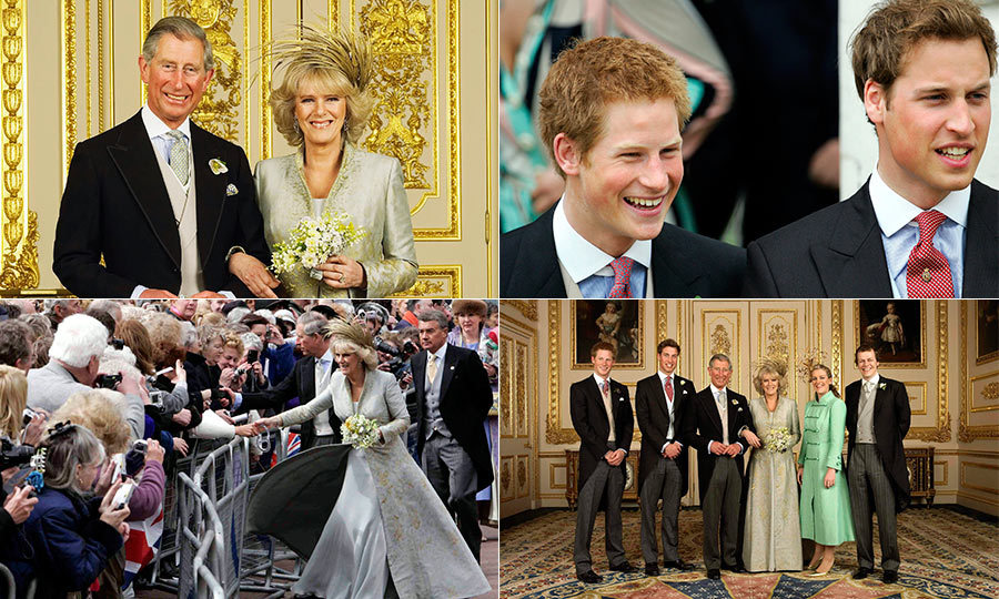 Charles And Camilla The Best Pictures From Their Royal Wedding Hello Us