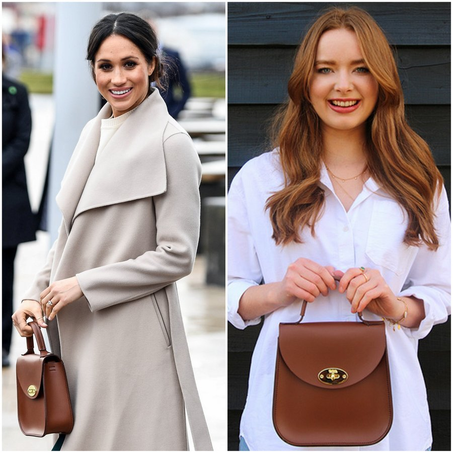 <b>The New Edition Bloomsbury bag by Charlotte Elizabeth</B>
