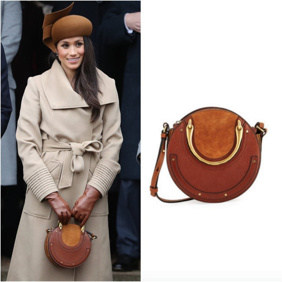 <B>The Pixie Small Round Tote Bag by Chloé</B>