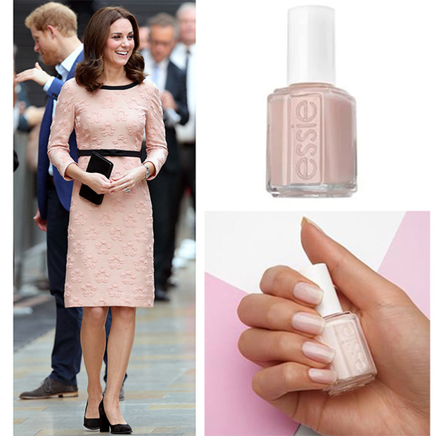 What Color Nail Polish With A Black Dress: Pink Nails Polish Color Ideas