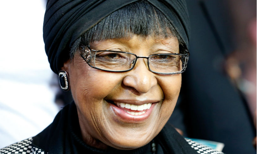 <b>Winnie Mandela - April 2</B>