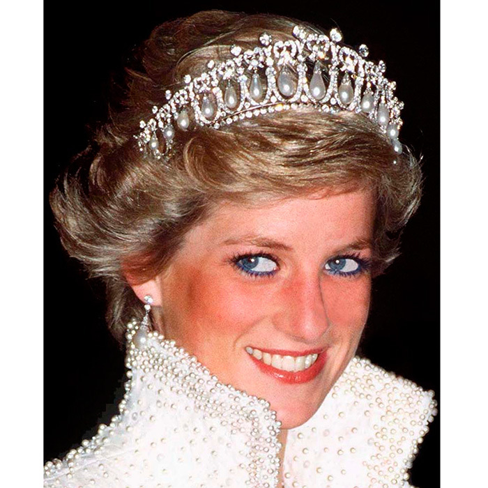 The British royal family's tiara collection: Cartier 'Halo ...