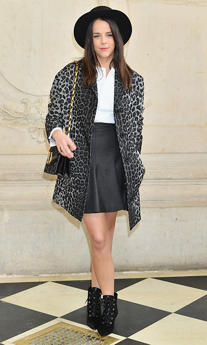 "Princess Grace's granddaughter – and daughter of Princess Stephanie of Monaco – <a href=""https://us.hellomagazine.com/tags/1/pauline-ducruet/""><strong>Pauline Ducruet</strong></a> was looking cool at the Christian Dior show at Paris Fashion Week in February 2018.