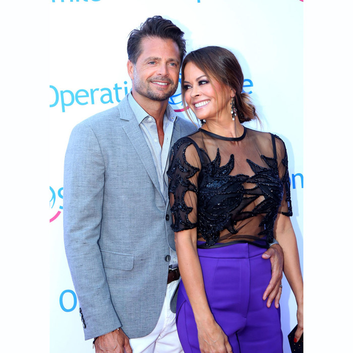 <b>Brooke Burke and David Charvet</b>