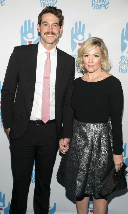 <b>Jennie Garth and David Abrams</b>