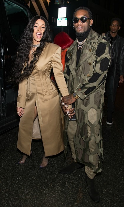 <b>Cardi B and Offset</b>