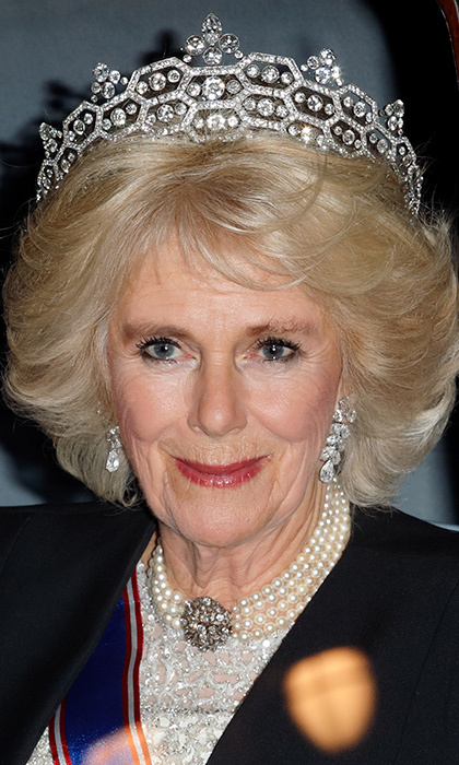 "<a href=""https://us.hellomagazine.com/tags/1/duchess-of-cornwall/""><strong>Camilla Parker Bowles</strong></a> has an impressive collection of tiaras, necklaces, brooches, earrings and rings at her disposal, including her own family pieces and personal love tokens from her husband <a href=""https://us.hellomagazine.com/tags/1/prince-charles/""><strong>Prince Charles</strong></a>. And then there is the stunning Royal Collection – <a href=""https://us.hellomagazine.com/tags/1/queen-elizabeth/""><strong>Queen Elizabeth II</strong></a> is the custodian of jewels on behalf of the monarchy – from which the Duchess of Cornwall has borrowed. Duchess Camilla often wears jewelry that once belonged to Prince Charles's beloved grandmother, Queen Elizabeth, the Queen Mother, and were moved to the Royal Collection after the royal's death in 2002.