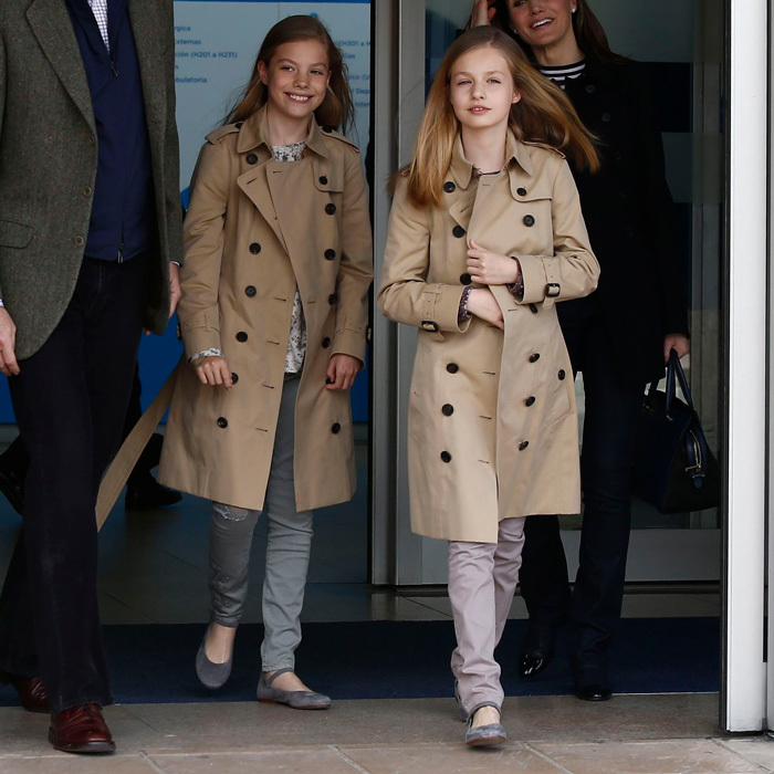 <b>Queen Letizia</b> and <b>King Felipe VI</b>'s daughters Princess Leonor</b> and her younger sister <b>Infanta Sofia</b> are less than two years apart, but as they grow up in the spotlight, they are often show off their matching style from their hair to their clothes. Click through to see all the sweet sisterly moments between Spain's youngest royals.</b>