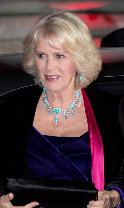 Diamond and turquoise set