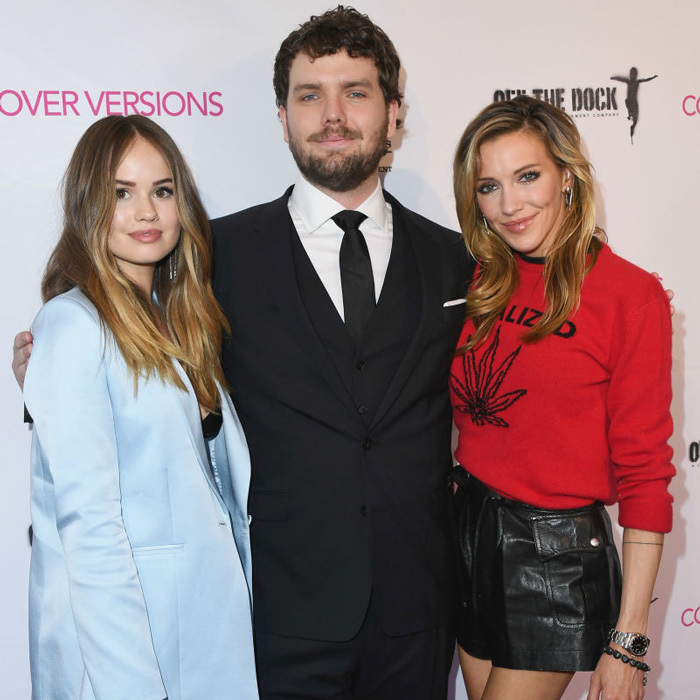 Katie Cassidy, Debby Ryan and Taylor Swift's brother Austin stepped out for the premiere of their new film <i>Cover Versions</i> in L.A. While walking the red carpet, Katie spoke about turning down Prince Harry during a Miami visit in 2014.