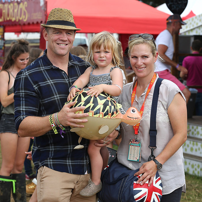 "<B><a href=""https://us.hellomagazine.com/tags/1/zara-tindall/""><strong>ZARA AND MIKE TINDALL</strong></a>'S DAUGHTER MIA</B>